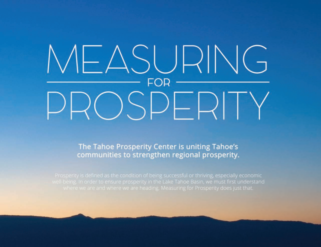 Measuring for Prosperity