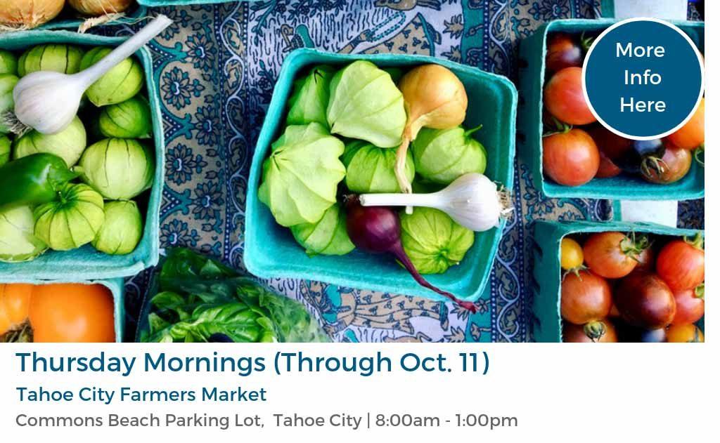 Tahoe City Farmers Market