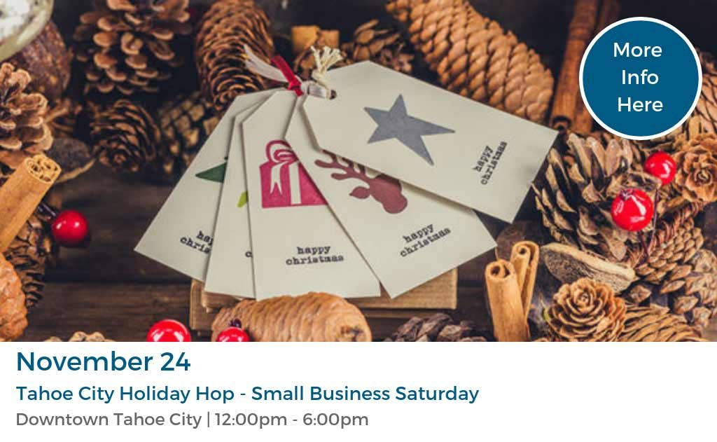 Tahoe City Holiday Hop - Small Business Saturday